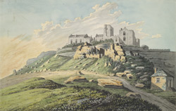 Near View of St Michael's Mount, Cornwall
